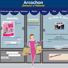 commerce-artisanat-arcachon.com